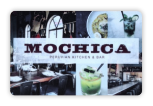 Mochica Gift Card